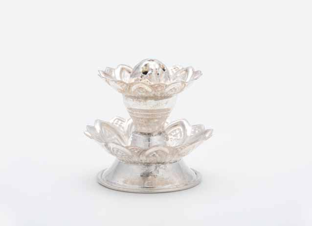 Silver Dhoop Stand